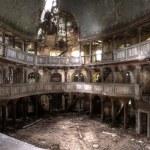 ruines mystérieuses de l'hdr de théâtre — Photo