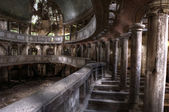 Ruinas de la ópera edificio hdr — Foto de Stock
