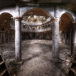 vieux théâtre panorama hdr — Photo