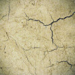 Cement cracked background -  