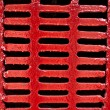 Red Lattice — Stock Photo