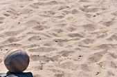 Ball on the Beach — Stock Photo