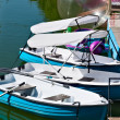 Boats on Water — Stock Photo