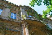 Windows of castle — Stock Photo