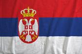 Flag of Serbia — Stock Photo