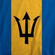 Stock Photo: Flag Of Barbados