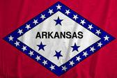 Flag of Arkansas, USA — Stock Photo
