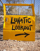 Lunatic Lookout — Stock Photo