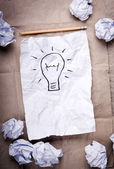 Concetto di idea creativa — Foto Stock