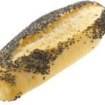 vete bröd med vallmofrön — Stockfoto