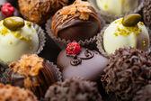 Handmade chocolates — Stock Photo