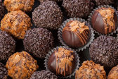 Handmade chocolates — Stockfoto