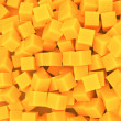 Orange cubes background — Stock Photo