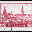 Postal stamp — Stock Photo