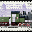 Poland postage stamp - Stock Photo