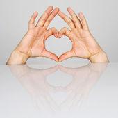 Coeur de symbole — Photo