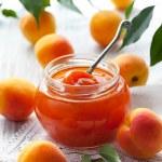 Apricot jam — Stock Photo