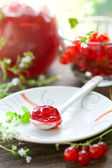 Mermelada de grosella roja — Foto de Stock