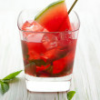 Watermelon Mojito — Stock Photo