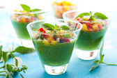 Green Gazpacho — Stock Photo