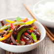 Stock Photo: Beef stir-fry