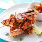 Chicken masala skewers — Stock Photo #11104887