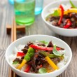 Beef stir-fry - Stock Photo