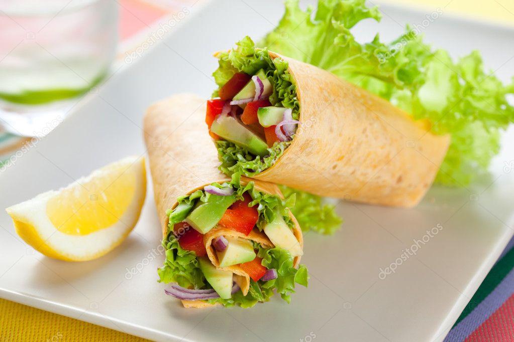 Лаваш с овощами рецепт с фото