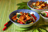 Stir-fried vegetables — Stock Photo