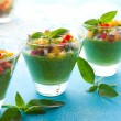 Green Gazpacho - Foto Stock