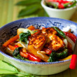 Stir-fried vegetables - Stock Photo
