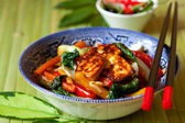 Stir-fried vegetables — Stock Photo