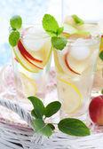 Apple drink — Stock Photo