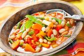 Zeleninová polévka — Stock fotografie