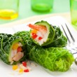 Stuffed cabbage rolls — Stock Photo