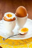 Boiled egg — Stock Photo