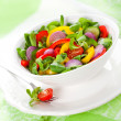 Fresh salad with vegetables — Foto Stock