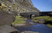 Typical Irish Stony Arch bridge located in Gap of Dunloe, Irelan — Stock Photo