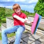 Childrens creativity — Stock Photo #10961335