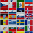 Flags and maps of European Union — Stock Photo #12260124