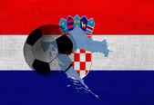 クロアチアのサッカー — ストック写真