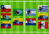 Calcio sudamericano — Foto Stock