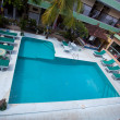Swimming pool top view — Stock Photo #11372393