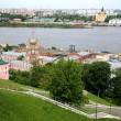 May spring view Nizhny Novgorod Russia — Stock Photo #10773824