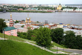 May spring view Nizhny Novgorod Russia — Stock Photo