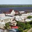Spring view oldest part Nizhny Novgorod Russia — Stock Photo #10798875