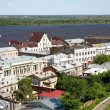 Spring view oldest part Nizhny Novgorod Russia - Stock Photo