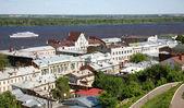 Spring view oldest part Nizhny Novgorod Russia — Stock Photo