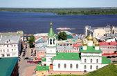 Spring may view Nizhny Novgorod Russia — Stock Photo