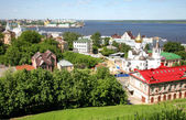 Spring scenic view of Nizhny Novgorod Russia — Stock Photo